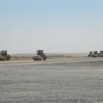 Construction of runway basecourse