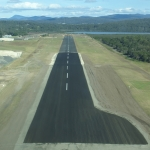 Reconstructed runway end