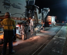 Profiling of asphalt pavements