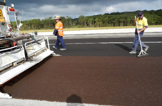 Christmas Island Airport - Runway Reseal Project - Airport Consultancy Group