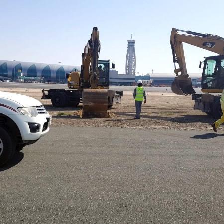Dubai International Airport - Southern Runway Resurfacing and AGL Works - Airport Consultancy Group