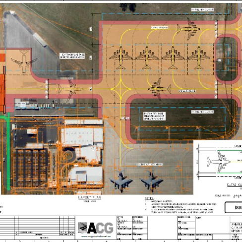RAAF Amberley - Provision of Concept Aircraft Pavement Design - Airport Consultancy Group
